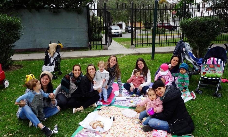 Picnic con amigas. Parque Blume.